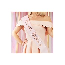 It's my birthday sash | Party supplies South Africa