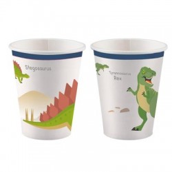 Dinosaur Cups (pack of 8)