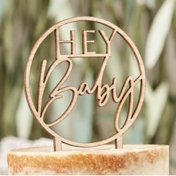Botanical Baby - Cake Topper  Baby Shower party supplies