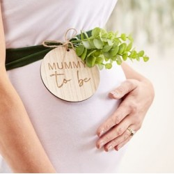 Botanical Baby - Mummy to be Belly Bagge