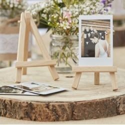 Mini wooden easels|Wedding Decor