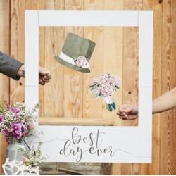 Giant Photo Booth Frame | Wedding Decor