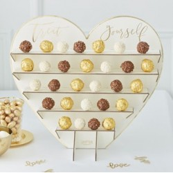 Chocolate Treat Stand | A unique wedding chocolate teat stand
