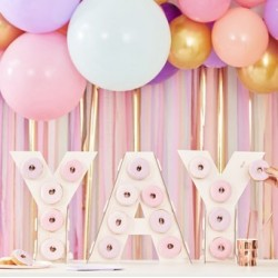 Mix It Up - Yay Ombre Pink Donut Wall