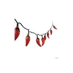 Chilli string decoration  Mexican party supplies South Africa