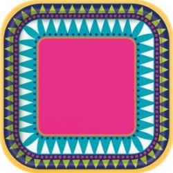 Boho Fiesta Square plates - South Africa