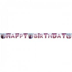 Frozen II Happy Birthday Die Cut Banner