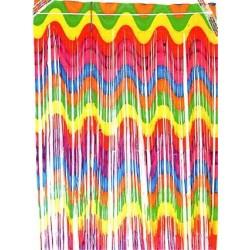 Multi Colour Curtain Backdrop (1m x 2.2m)