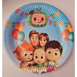 Cocomelon Paper Plates (10pcs)