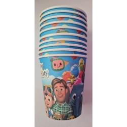 Cocomelon Paper Cups (10pcs)