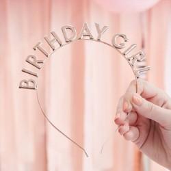 Mix i Up - Rose Gold Birthday Girl Headband