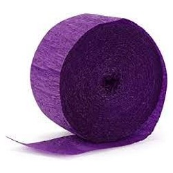 Purple Streamer (pack of 1) 24.6m x 4.45cm