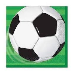 Soccer beverage serviettes