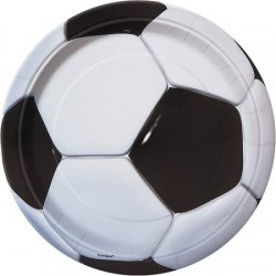Soccer 7 inch plate