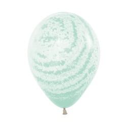 "12"" Graffiti Marble Latex Balloon"