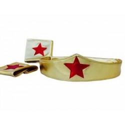 Wonder Women Cuff and Headband set