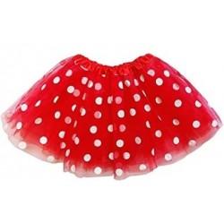 Red Polka Dot Tutu - Child   Tutu skirt. Kids and Adults dress up.