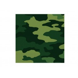 Military Camo Serviettes (pack of 10)