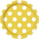 Yellow Dots Party Supplies