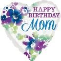 Family Birthday Foil balloons