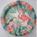 Summer Pineapple and Flamingo