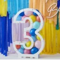 Balloon Mosaic Number Stands